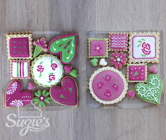 thème fête des mères biscuits féminins