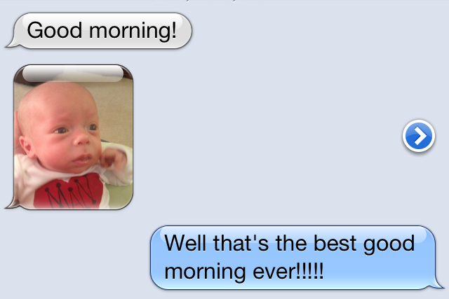 Best good morning text messages car pictures
