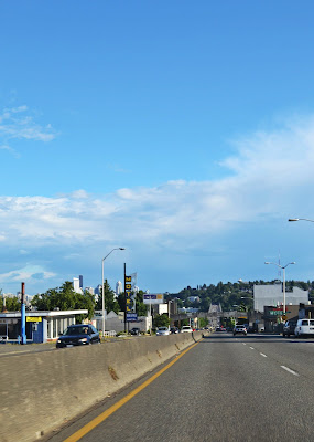 Aurora Bridge, Seattle, downtown, fremont, road, driving