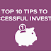 10 Best Tips To Invest, Spend And Save Better : 23 Nov 2015