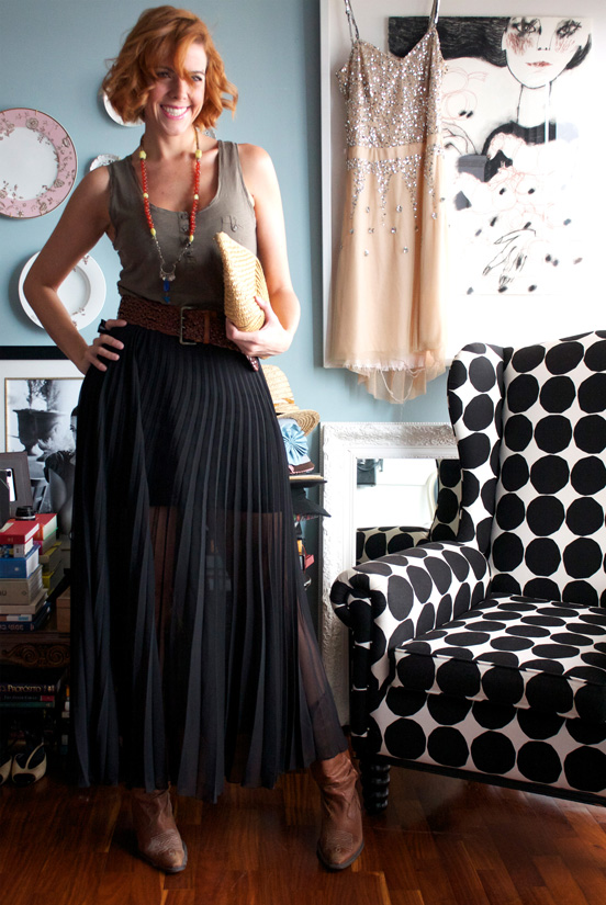 style by today s maxi skirt and cowboy boots