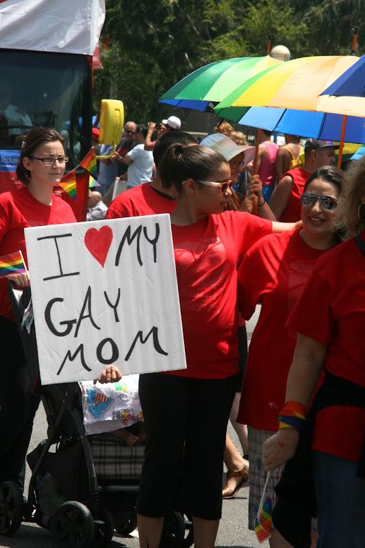 I love my gay mom LA Pride Parade 2013
