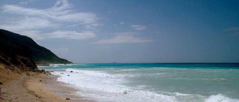 Strand Kathisma: Blick in Richtung Süden