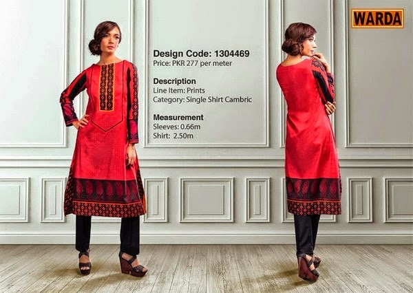 Warda Fall Winter Grace Dresses 2014