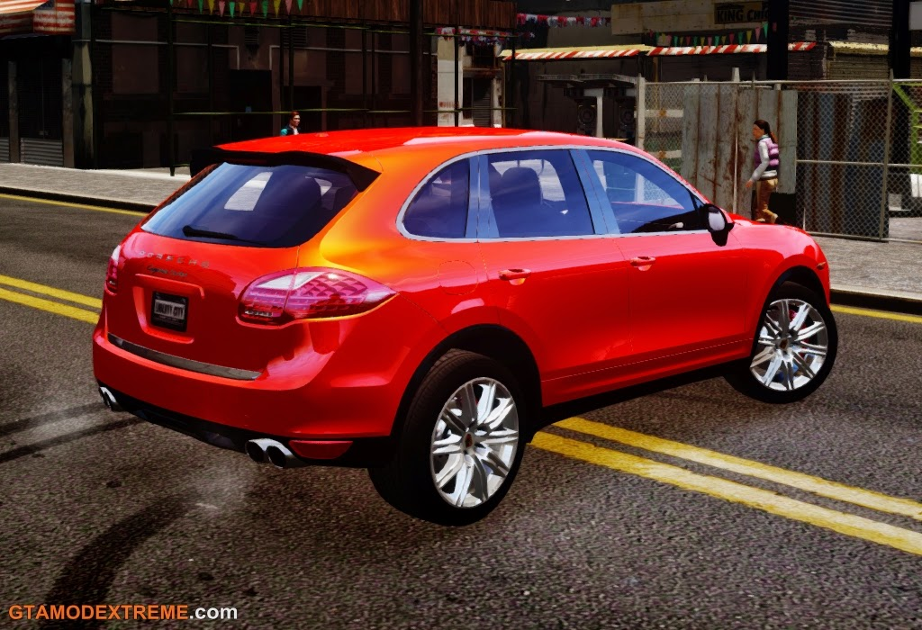 Download carro Porsche Cayenne Turbo 2012 Para GTA IV