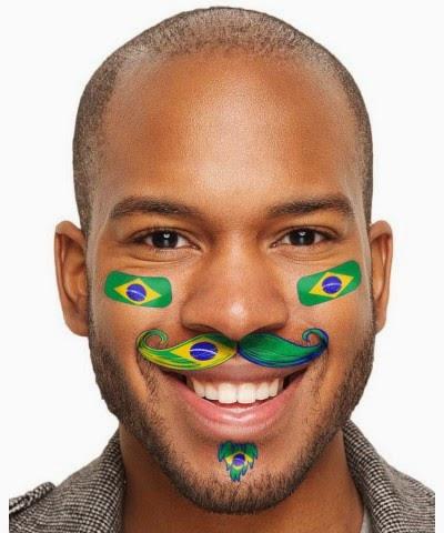 Brazil Flag Morphsuit