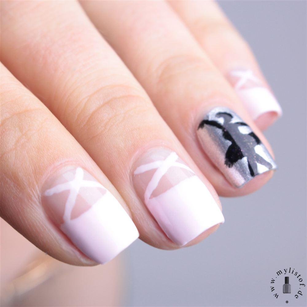 My List Of ....: [ Nagel(lack) - ABC ] Ballerina Nails mit Essie