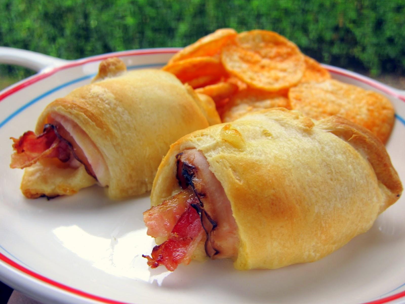 Turkey Bacon Crescents | Plain Chicken
