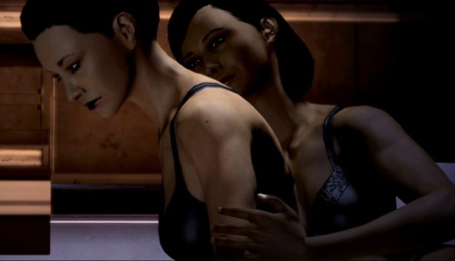mass effect sex scene traynor female sheppard