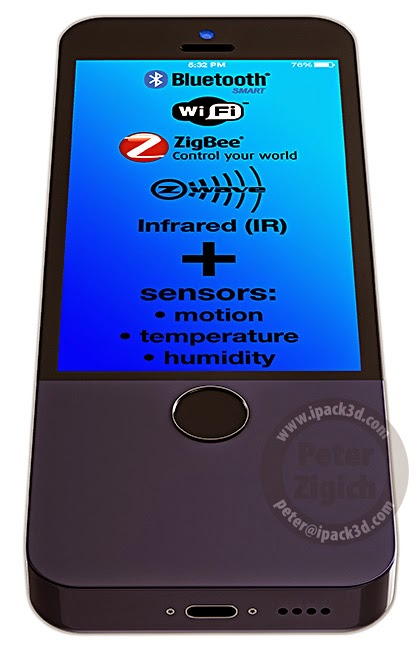 iControl, iPack3d, homekit, apple, peter, zigich,