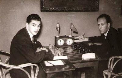 1951 - Partida de ajedrez Joaquim Durâo - Josep M. Bas