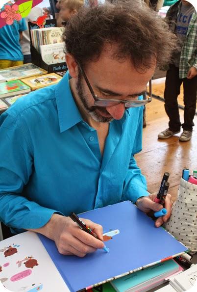 Marc Boutavant - Escale du livre 2015 - Bordeaux