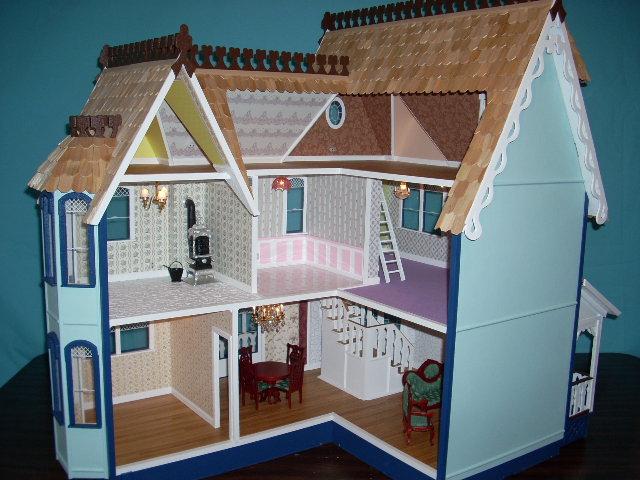 Сделать кукольный домик своими руками фото