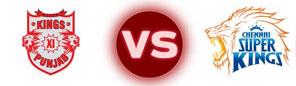 KXIP vs CSK