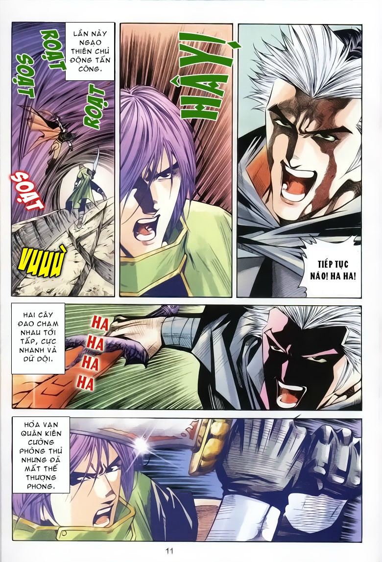 Kiếm Hồn - Sword Soul chap 61 - Trang 10