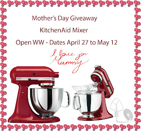 KitchenAid Mother's Day Giveaway World-Wide - Enter To Win Now!