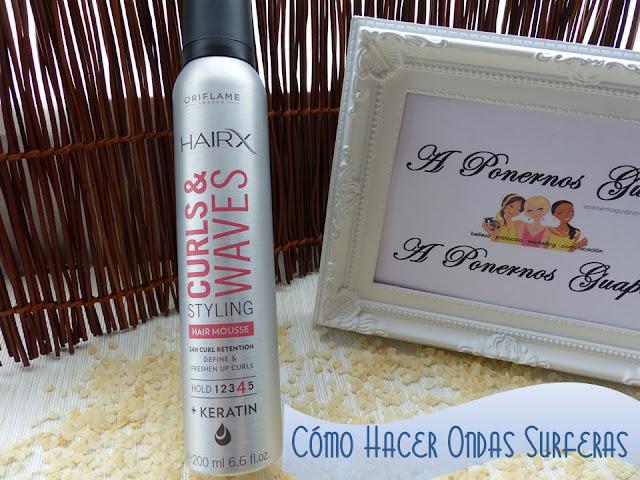 HairX Curls & Waves Ondas surferas Oriflame