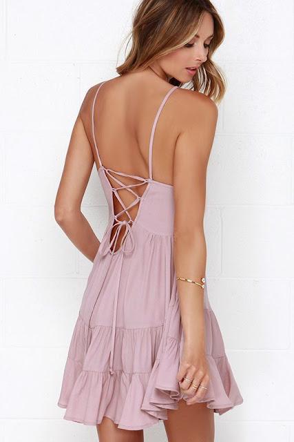 Be-you-tiful Mauve Dress