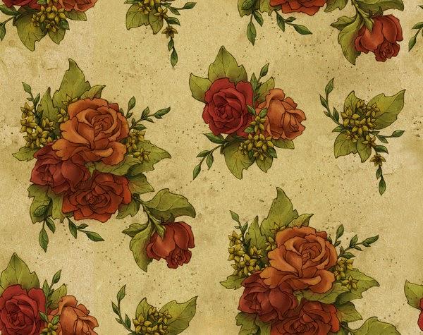 fondo de rosas