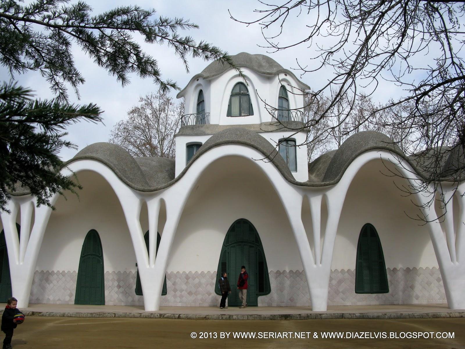 Paseo chimenea almirall parc sant jordi masia freixa - Masias en terrassa ...
