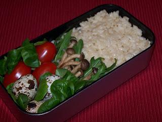 lecker bentos und mehr bento nr 247 risotto mit shimeji pilze. Black Bedroom Furniture Sets. Home Design Ideas