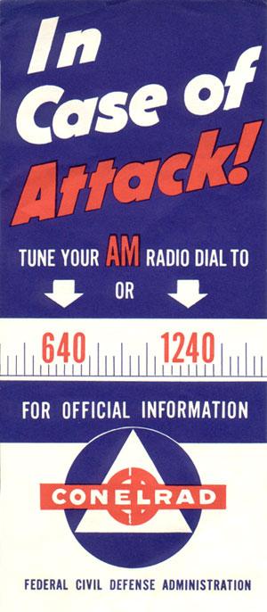 Image result for transistor radio with civil defense marks