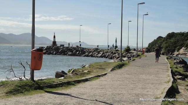 Molhe da Barra da Lagoa - Floripa