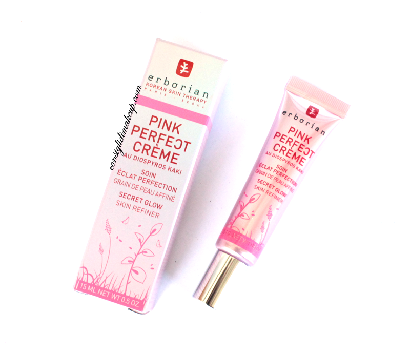 recensione crema pink perfect erborian review