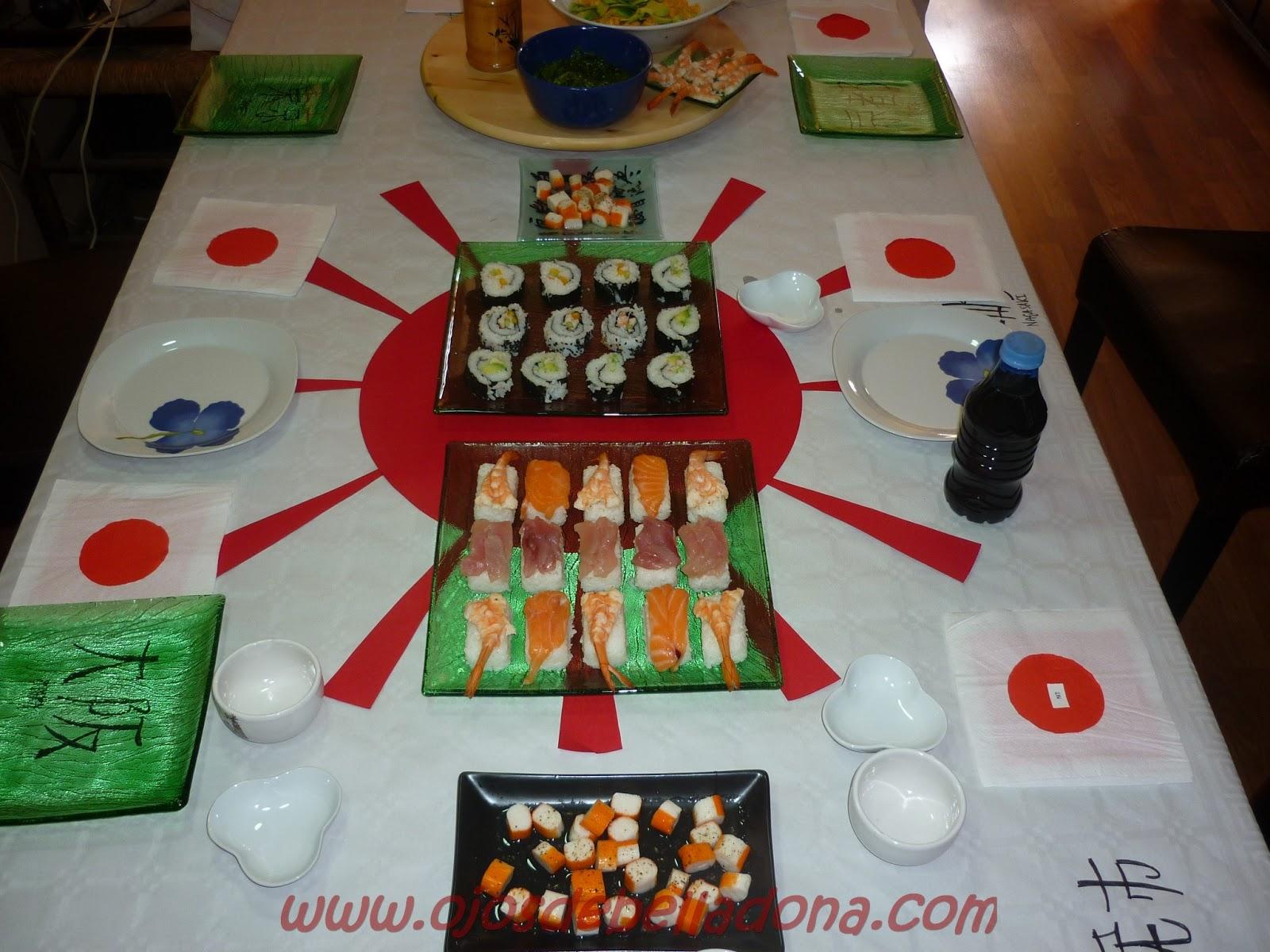 Japón, comidas del mundo