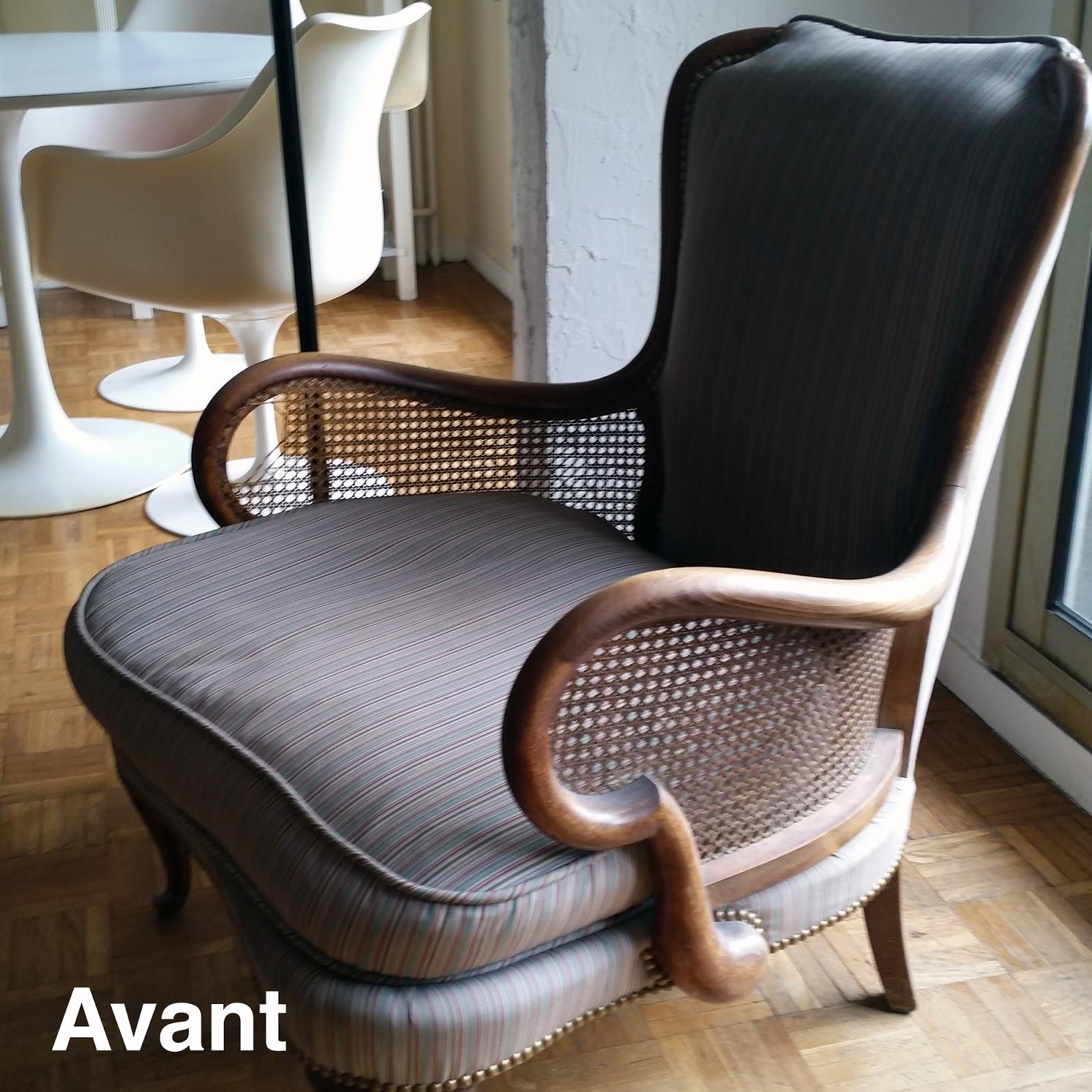 Avant Aprs Fauteuil Anglais Atelier Velvet