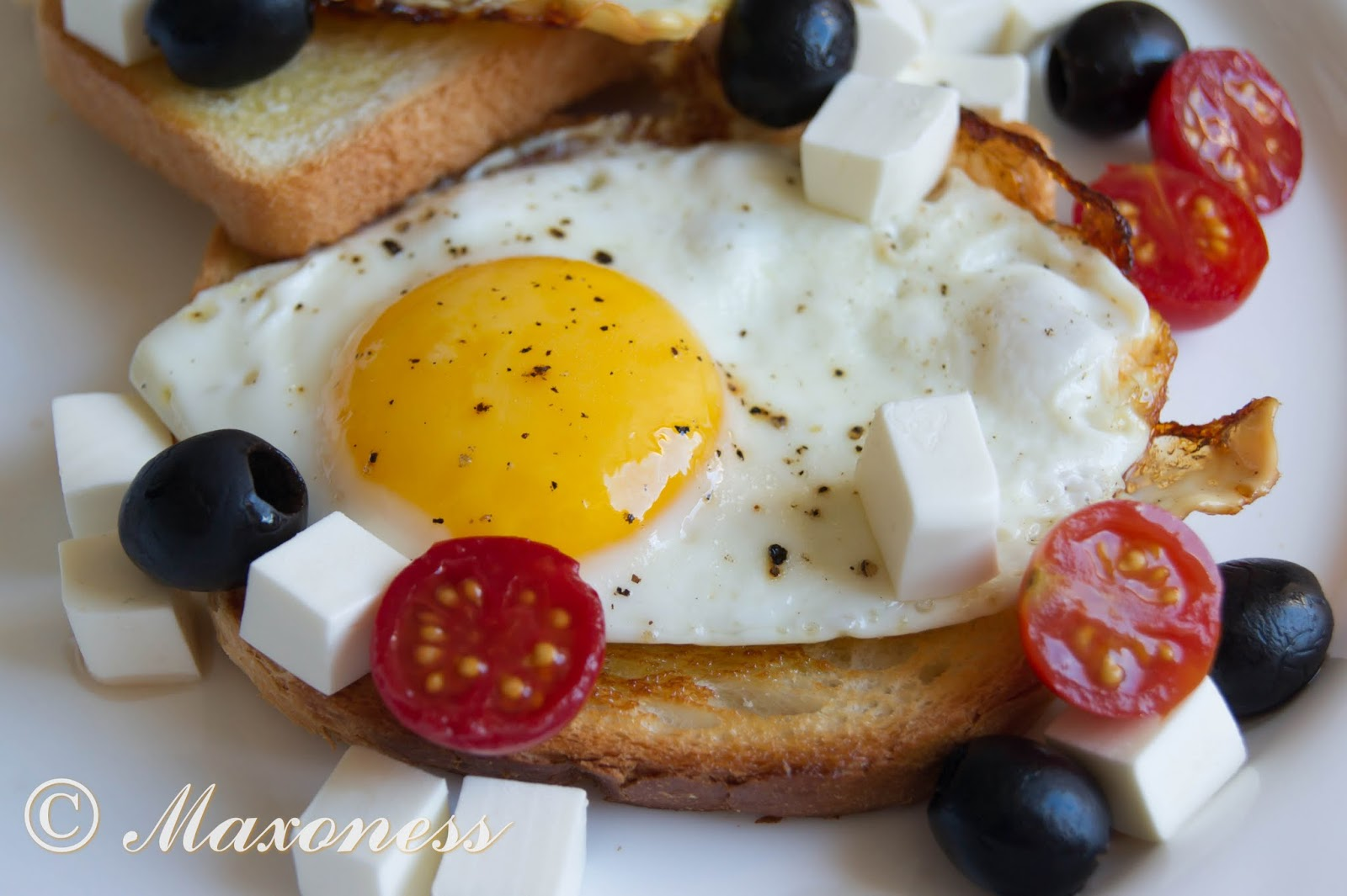 Яйца в турецком стиле