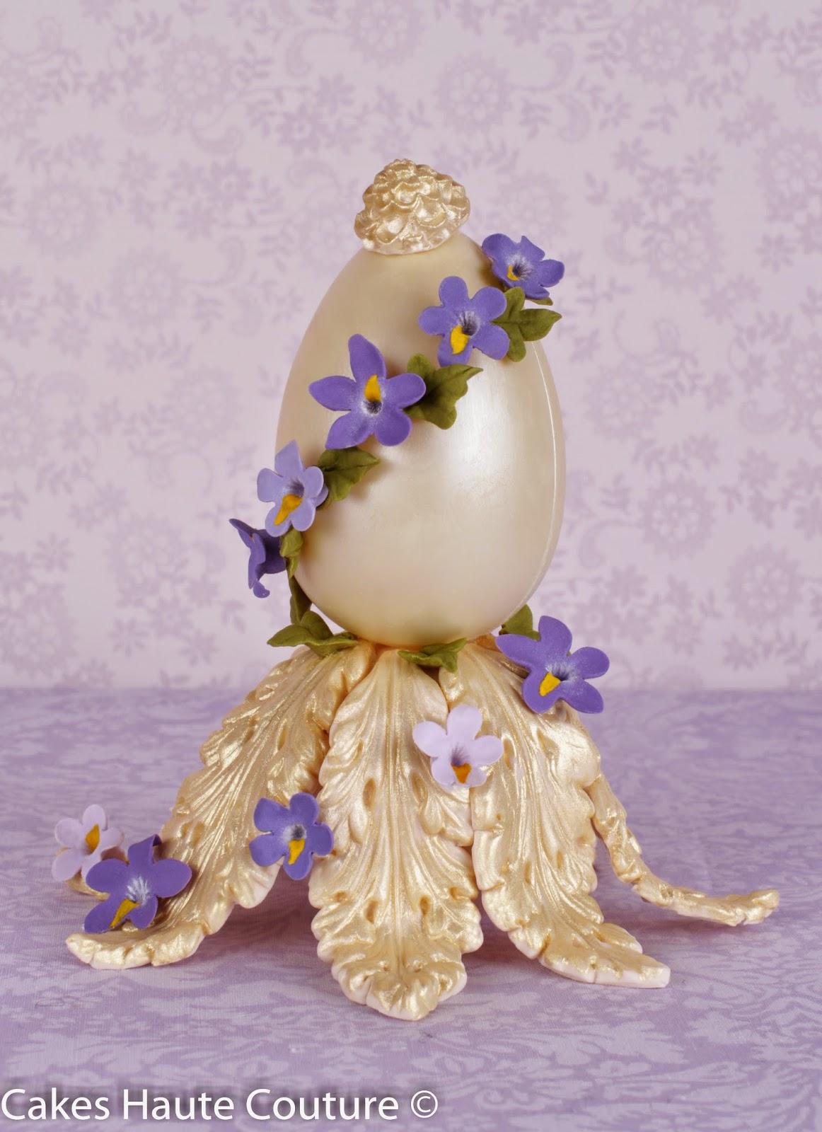 huevos Fabergé de chocolate