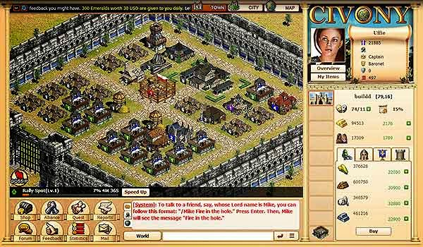 Download Free Strategy Games - Evony