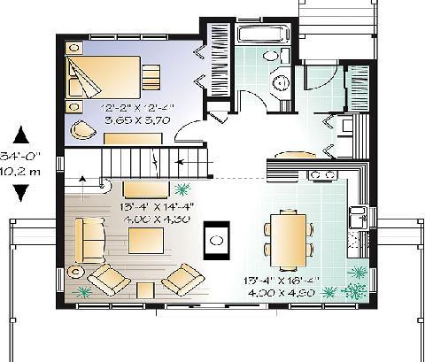Planos casas modernas planos de casas con sus medidas - Como disenar planos de casas ...