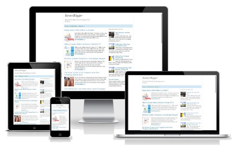 Membuat Template Responsive Untuk Blogger/ Blogspot