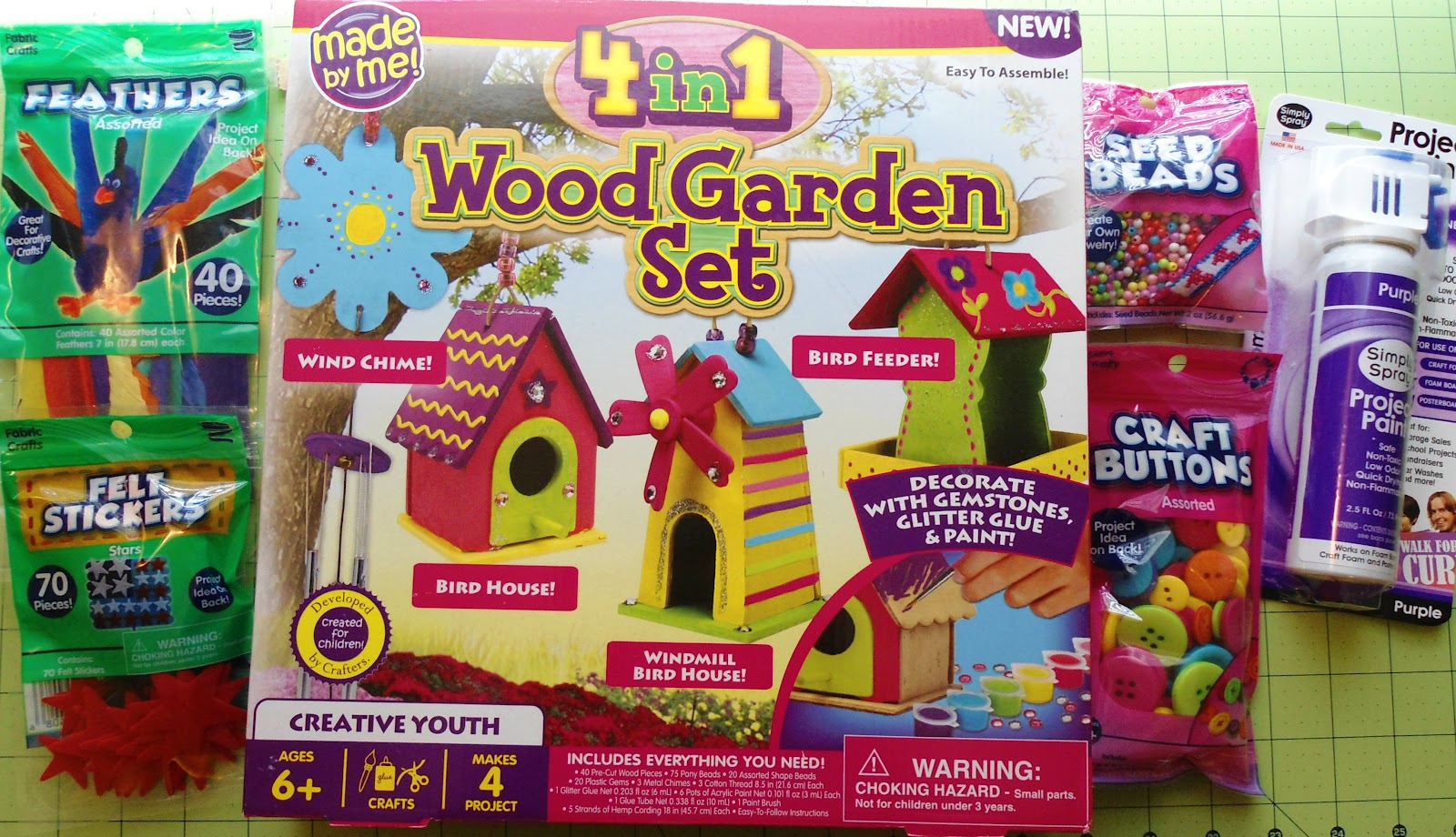 Kids wood craft kits -  Planned For The Summer With These Goodies Which I Ll Share With You In The Future Of Course But We Decided To Begin With Painting And Building The