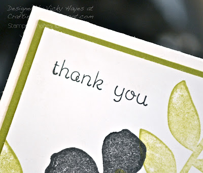Sentiment from Easy Events by Stampin' Up