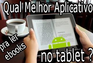 aplicativo android ler livros parecido com ibooks