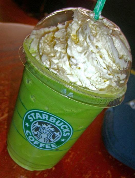 Image result for Starbucks green tea latte