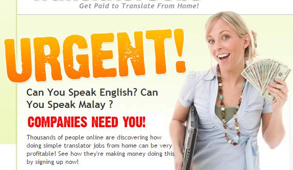 Laman Web Real Translator Jobs adalah Scam Jangan Terpedaya
