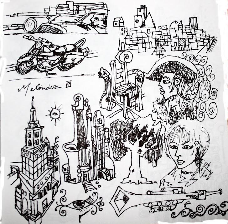 Dibujos bocetos 4