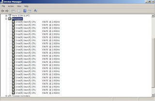 Device Manager Dual Xeon 5670 6-Core com 24 nucleos HT