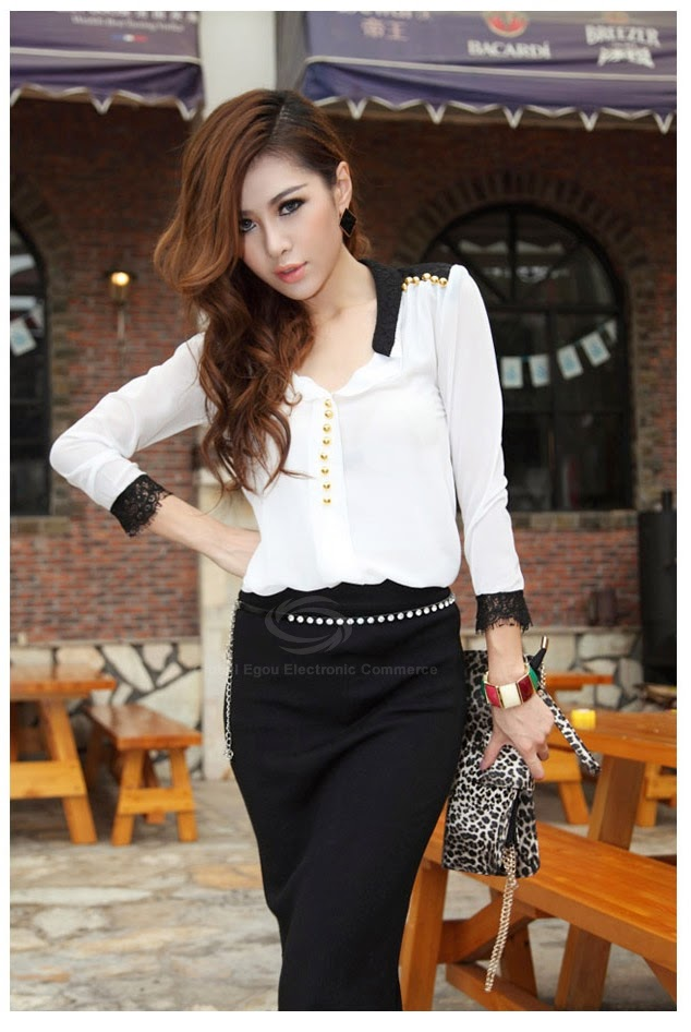 http://www.dresslily.com/splicing-lace-blocking-color-chic-fastener-blouse-product337807.html