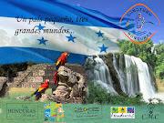 Afiche del turismo en Honduras turismo de honduras con firma