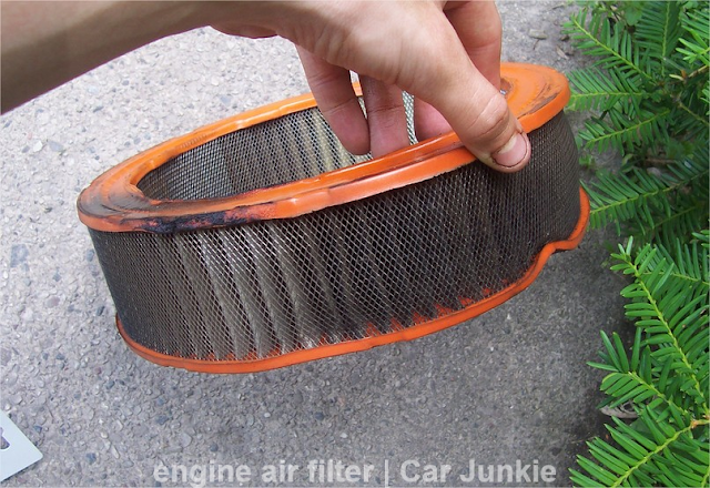 engine air filter replacement schedule