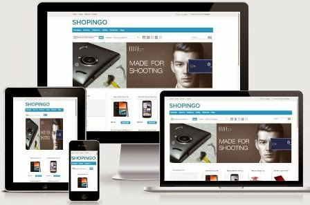 Shopingo Responsive Blogger E-commerce