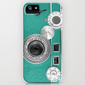 Turquoise Phone Case