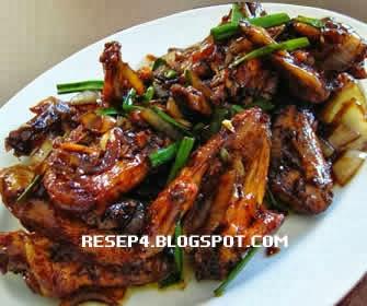 resep ayam kecap goreng pedas   resep masakan 4