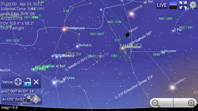 Mobile Observatory - Astronomy app