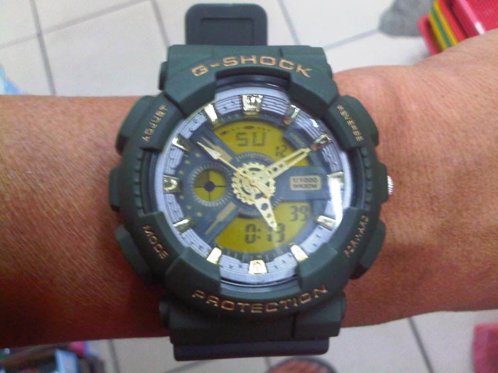 Replica g shock watches - Casio Gshock Ga 110c Men Watch
